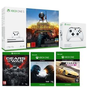 CONSOLE XBOX ONE Pack Xbox One S 1 To PUBG + 2eme manette offerte !