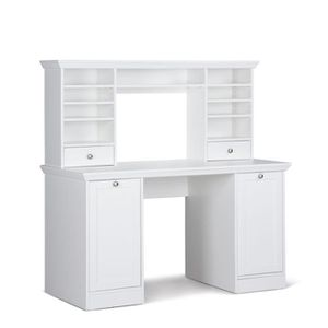 meubles bureau blanc achat vente meubles bureau blanc pas cher cdiscount. Black Bedroom Furniture Sets. Home Design Ideas