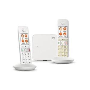Téléphone fixe GIGASET E370 Duo Blanc