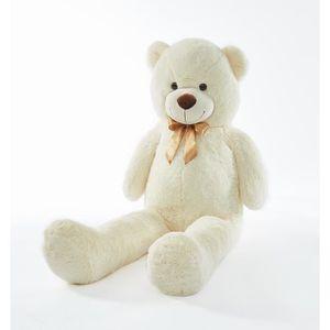 PELUCHE LEON Ours en peluche 150 cm blanc