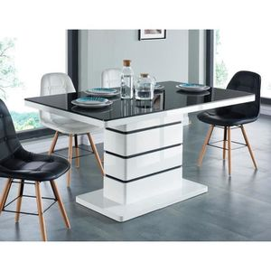 table a manger cdiscount. Black Bedroom Furniture Sets. Home Design Ideas