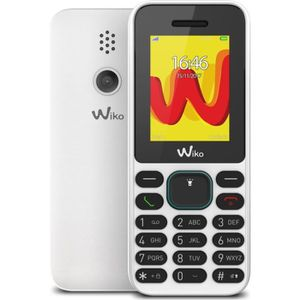 Téléphone portable Wiko Lubi 5 Blanc