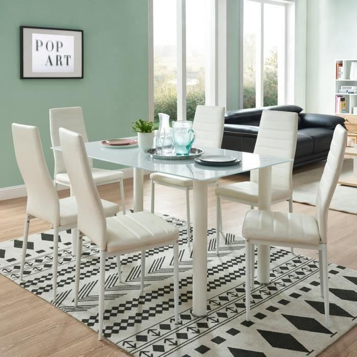 table et chaises de cuisine gris achat vente pas cher. Black Bedroom Furniture Sets. Home Design Ideas