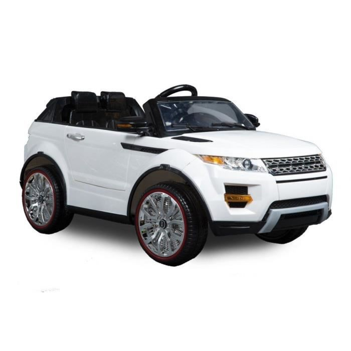 land rover evoque voiture electrique pour enfant 12v blanc. Black Bedroom Furniture Sets. Home Design Ideas