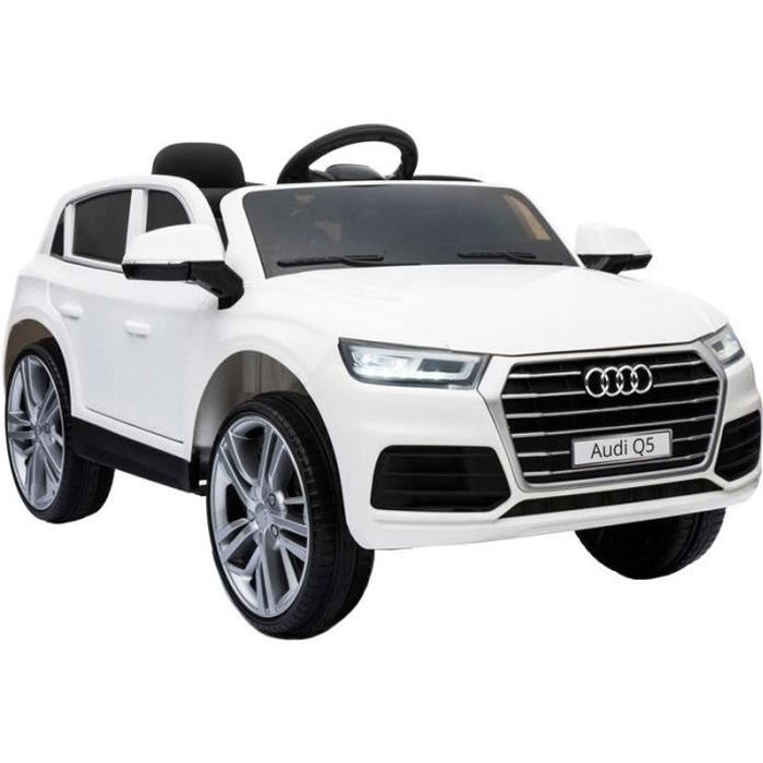 audi q5 voiture electrique pour enfant 12v blanc achat. Black Bedroom Furniture Sets. Home Design Ideas