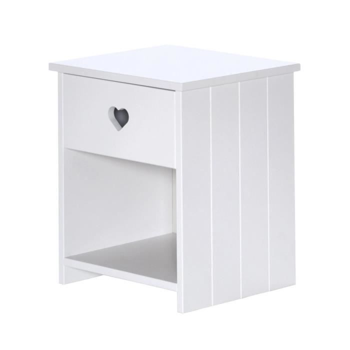 table de chevet enfant achat vente table de chevet enfant pas cher cdiscount. Black Bedroom Furniture Sets. Home Design Ideas