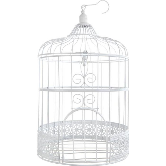 cage a oiseaux decorative achat vente pas cher. Black Bedroom Furniture Sets. Home Design Ideas