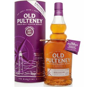 WHISKY BOURBON SCOTCH Old Pulteney Pentland skerries 1L 46%
