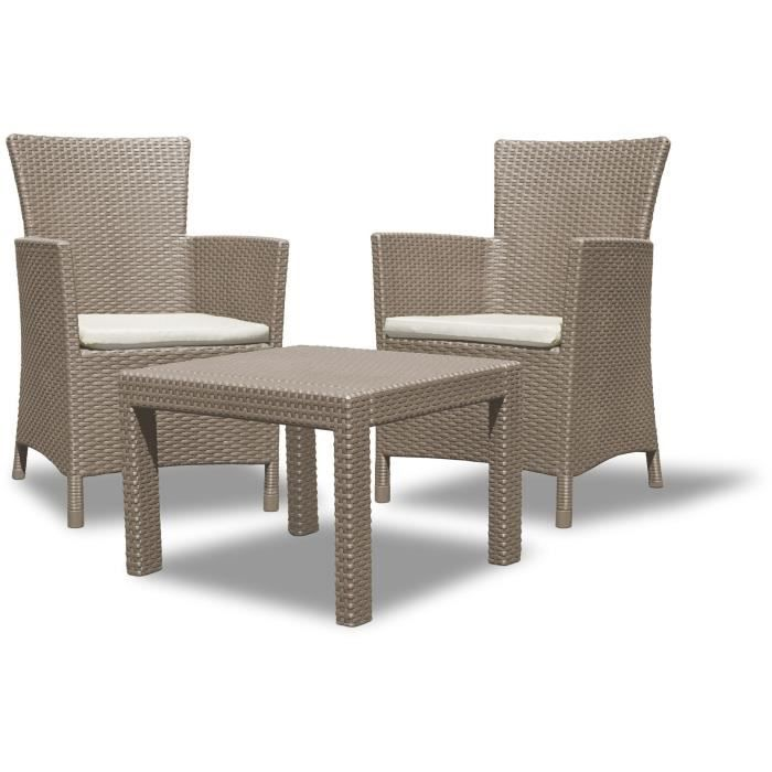 salon de jardin resine tressee 2 places achat vente salon de jardin resine tressee 2 places. Black Bedroom Furniture Sets. Home Design Ideas