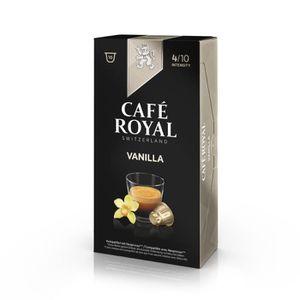CAFÉ CAPSULE 10 capsules Café Royal Vanilla Capsules compatible