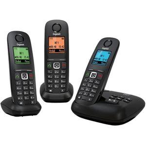 Téléphone fixe Gigaset A540A Trio Téléphone Sans Fil Répondeur No