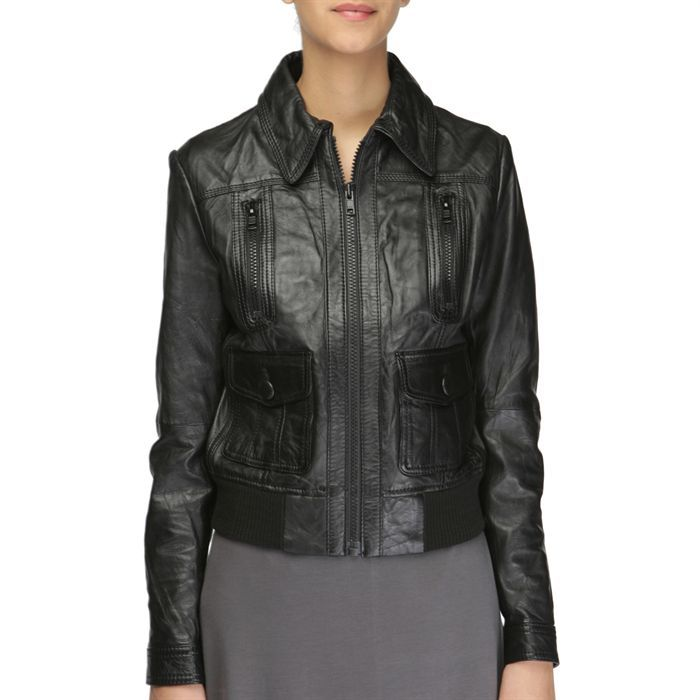 redskins blouson cuir femme noir achat vente blouson. Black Bedroom Furniture Sets. Home Design Ideas