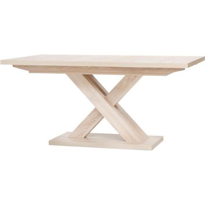 Table Pied Central Avec Rallonge