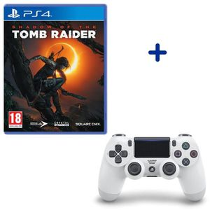 JEU PS4 Shadow Of The Tomb Raider + Manette DualShock 4 Gl