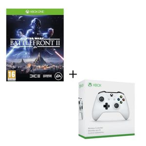 JEU XBOX ONE Star Wars Battlefront 2 Jeu Xbox One + Manette san