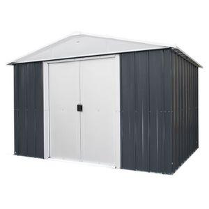 ABRI JARDIN - CHALET YARDMASTER Abri de jardin en métal 12 m² - Gris an