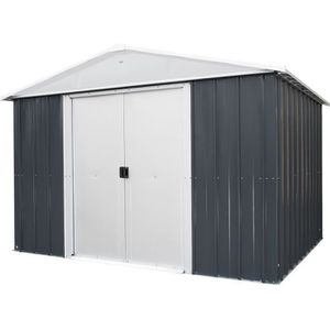 ABRI JARDIN - CHALET YARDMASTER Abri de jardin en métal 7,18 m² - Gris