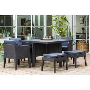 mobilier de jardin achat vente pas cher cdiscount. Black Bedroom Furniture Sets. Home Design Ideas