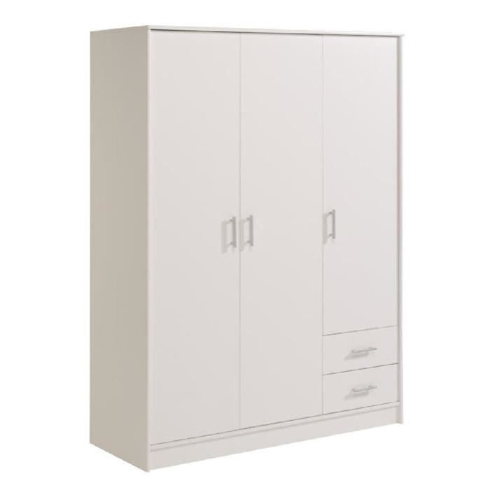 cdiscount armoire blanche my blog. Black Bedroom Furniture Sets. Home Design Ideas