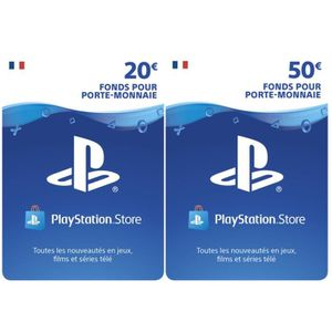 CARTE MULTIMEDIA Playstation Network Live Card 70€