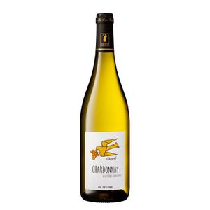 VIN BLANC L'envol Chardonnay 2018 IGP Val de Loire - Vin bla