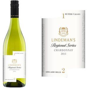 VIN BLANC Lindeman's Regional Chardonnay Australie 2015 -...
