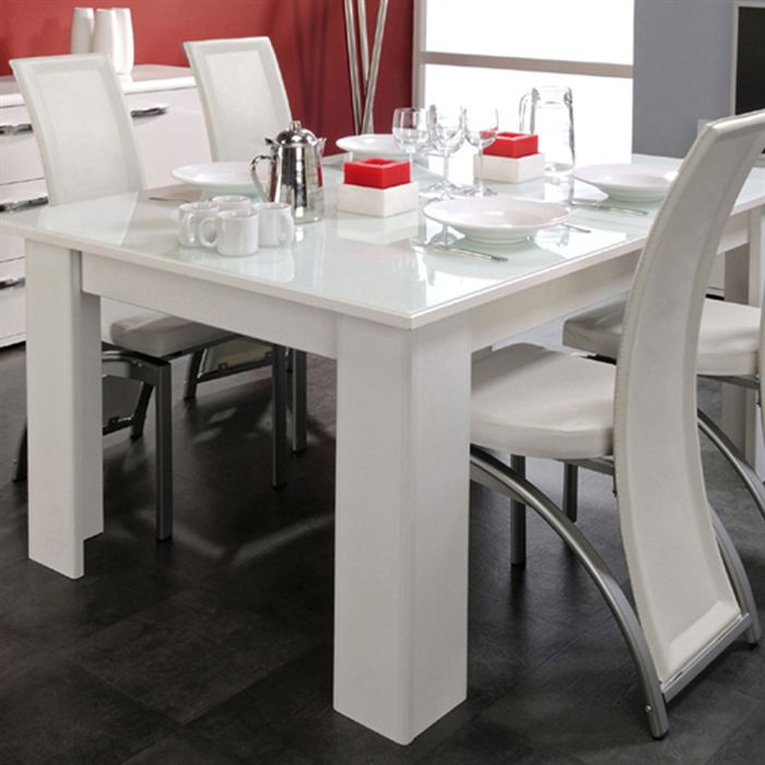 Tables extensibles achat vente tables extensibles pas for Table a manger carree blanche