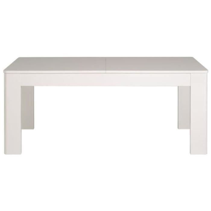 White table manger extensible 6 8 personnes 180 230x91 for Table extensible 6 a 8 personnes blooma