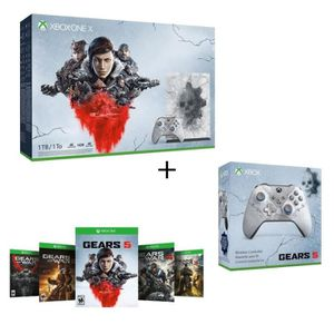 CONSOLE XBOX Xbox One X 1 To Edition Limitée Gears of War + 1 m