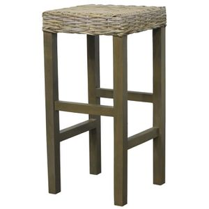 tabouret de bar rotin achat vente tabouret de bar rotin pas cher cdiscount. Black Bedroom Furniture Sets. Home Design Ideas