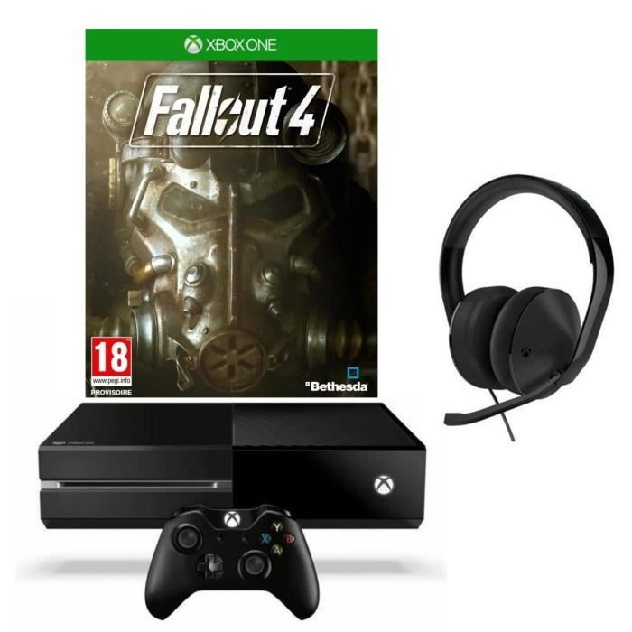 Xbox one 1 to noire fallout 4 fallout 3 casque st r o filaire achat vente console xbox - What consoles will fallout 4 be on ...