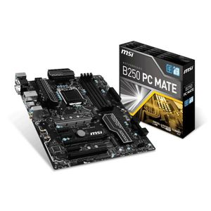 CARTE MÈRE MSI Carte mère B250 PC MATE - Socket LGA 1151 - DD