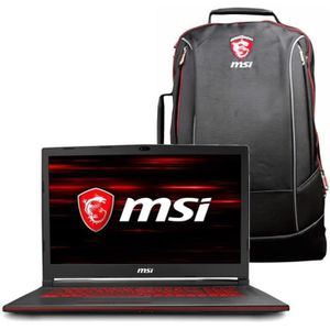 ORDINATEUR PORTABLE PC Portable Gamer - MSI GL63 8RCS-093FR - 15,6