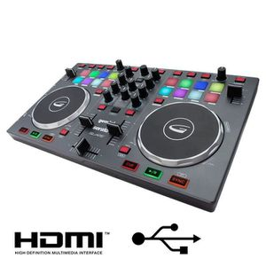 TABLE DE MIXAGE GEMINI SLATE Table de mixage 2 voies USB HDMI