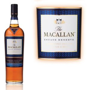 WHISKY BOURBON SCOTCH The Macallan Estate Reserve 70cl 45.7