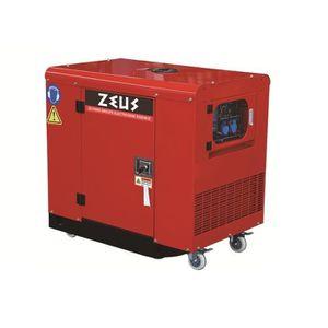 GROUPE ÉLECTROGÈNE ZEUS Groupe électrogène silencieux 9500w - 11,4 Kv