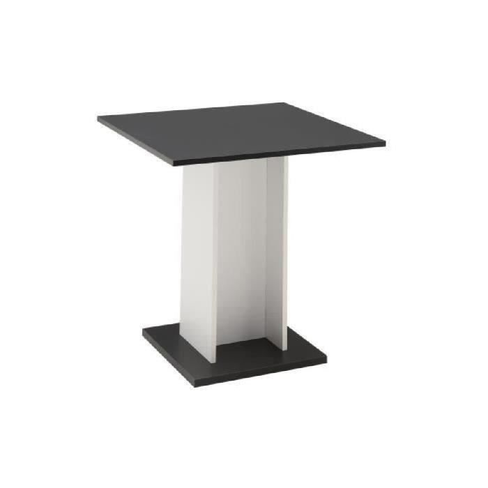 Table ronde blanche achat vente table ronde blanche for Table a manger carree blanche
