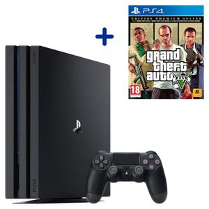 CONSOLE PS4 PS4 Pro 1 To Noire + Grand Theft Auto V Edition Pr