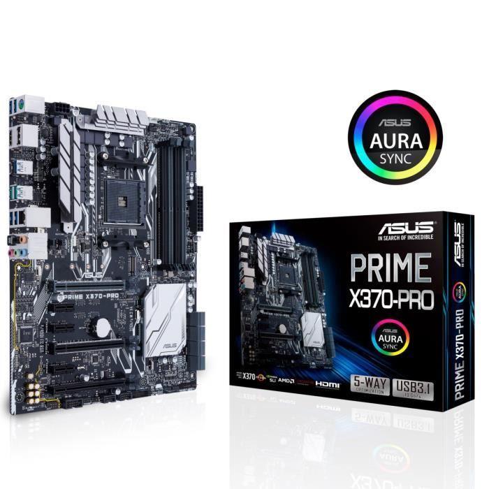 CARTE MÈRE Asus Carte mère PRIME X370-PRO - Socket AM4 - DDR4