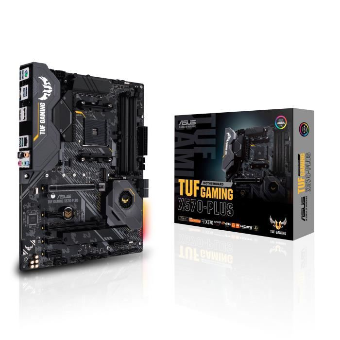 CARTE MÈRE ASUS Carte mère X570 TUF Gaming X570-Plus - AM4
