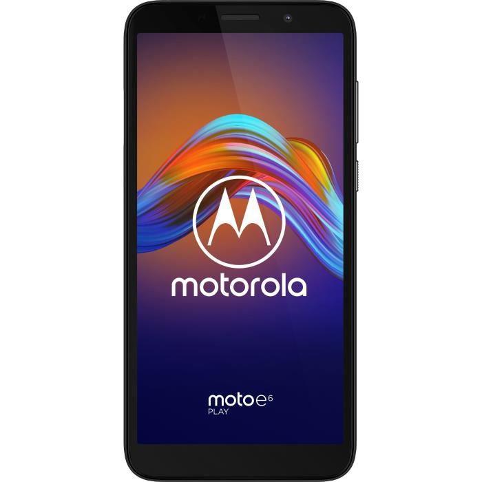 SMARTPHONE MOTOROLA E6 Play Noir 32 Go