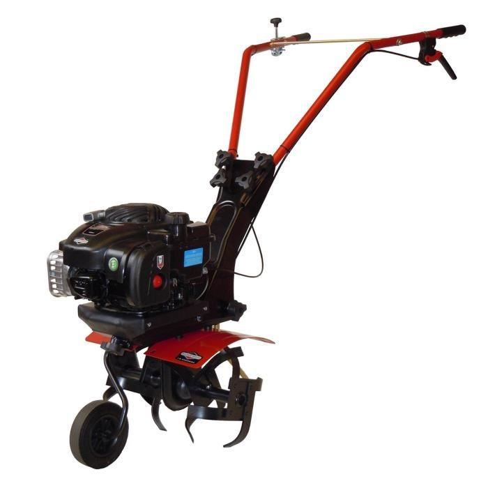 motobineuse thermique 125cc briggs stratton 450 e 4 fraises 40cm achat vente motobineuse. Black Bedroom Furniture Sets. Home Design Ideas