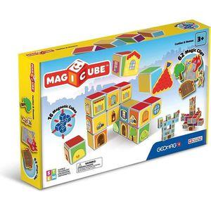 ASSEMBLAGE CONSTRUCTION MAGICUBE Chateaux (16 cubes + Accessoires)