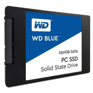 "DISQUE DUR SSD WD Blue™ 250 Go 2,5""/7 mm WDS250G1B0A"