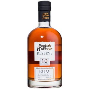 RHUM Rhum ENGLISH HARBOUR 10 ans d'âge - Ambré - 70 cl