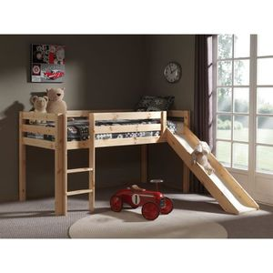 lit mezzanine enfant bois achat vente lit mezzanine. Black Bedroom Furniture Sets. Home Design Ideas