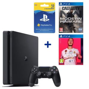 CONSOLE PS4 PS4 Slim 500 Go + Call Of Duty Modern Warfare + FI