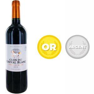 VIN ROUGE Clos du Cheval Blanc 2012 Côtes de Bourg - Vin rou