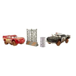 VOITURE - CAMION CARS 3 - Super-Huit Pack De 2 Véhicules Flash McQu