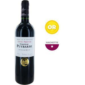 VIN ROUGE Château Puybarbe 2014 Côtes de Bourg - Vin rouge d